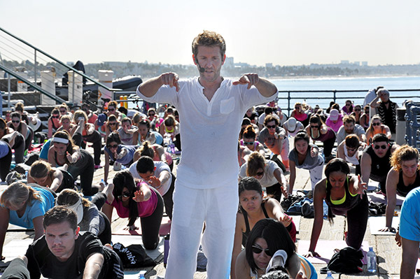 marc holzman outdoor yoga