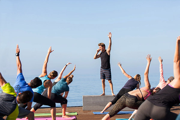 marc holzman outdoor yoga